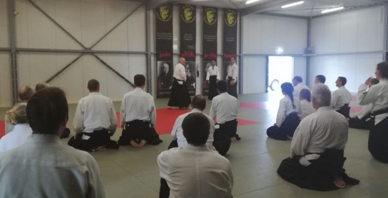 Yudansha Trainings at Veghel